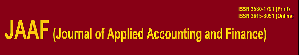 JAAF (Journal of Applied Accounting and Finance)
